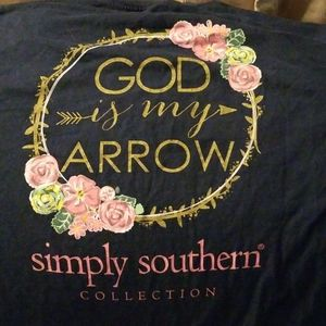 Simply Southern Tshirt LARGE